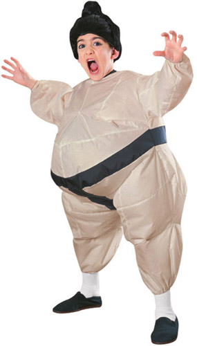 CHILD INFLATABLE SUMO WRESTLER