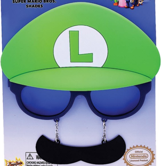 SUPER MARIO BROTHERS LUIGI SUNGLASSES