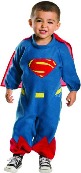 DELUXE SUPERMAN COSTUME FOR TODDLER BOYS