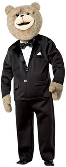TED THE BEAR WITH SOUND THE MOVIE COSTUME FOR MEN