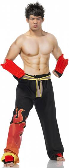 TEKKEN'S JIN KAZAMA COSTUME FOR MEN