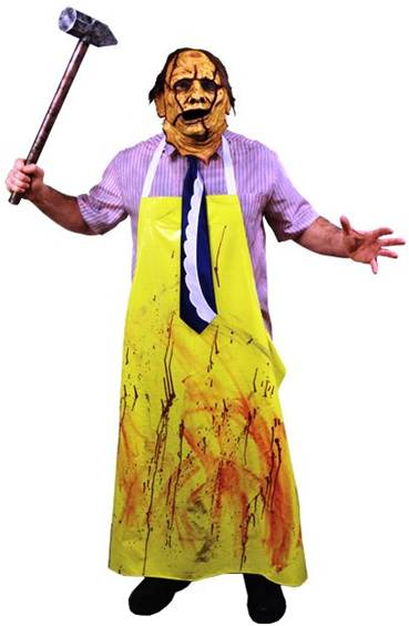 DELUXE LEATHERFACE COSTUME FOR MEN