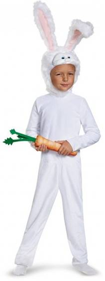 SECRET LIFE OF PETS SNOWBALL COSTUME FOR BOYS