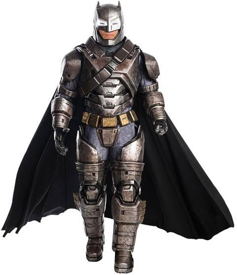 BvS THEATRICAL ARMORED BATMAN COSTUME FOR MEN