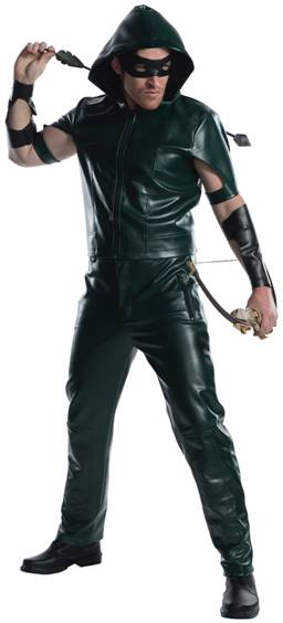 THEATRICAL QUALITY GREEN ARROW COSTUME FOR MEN