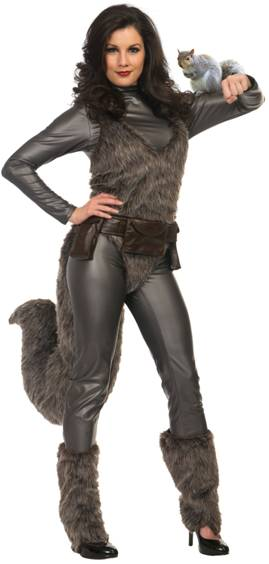 THEATRICAL QUALITY SQUIRREL GIRL COSTUME FOR WOMEN