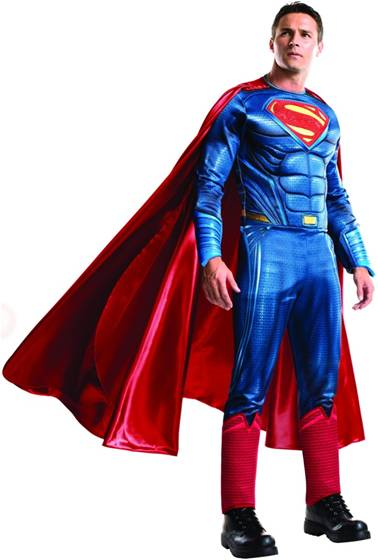 BvS THEATRICAL QUALITY SUPERMAN COSTUME FOR MEN