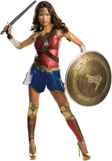 BvS THEATRICAL WONDER WOMAN COSTUME FOR WOMEN