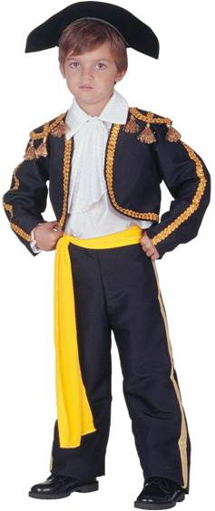 **TORERO MATADOR COSTUME FOR BOYS