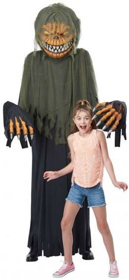 TOWER TERROR PUMPKIN COSTUME FOR ADULTS