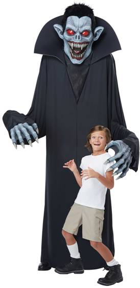TOWER TERROR VAMPIRE COSTUME FOR ADULTS