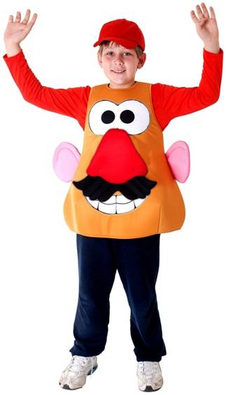 MR. POTATO HEAD COSTUME FOR KIDS