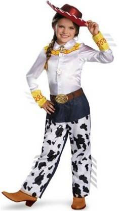 TOY STORY JESSIE PRESTIGE COSTUME FOR GIRLS