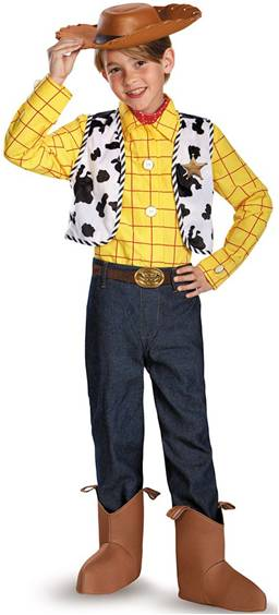 TOY STORY WOODY PRESTIGE COSTUME FOR BOYS