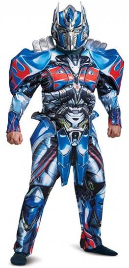DELUXE MUSCLE TORSO OPTIMUS PRIME COSTUME FOR MEN