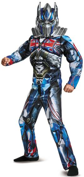 DELUXE MUSCLE OPTIMUS PRIME COSTUME FOR BOYS