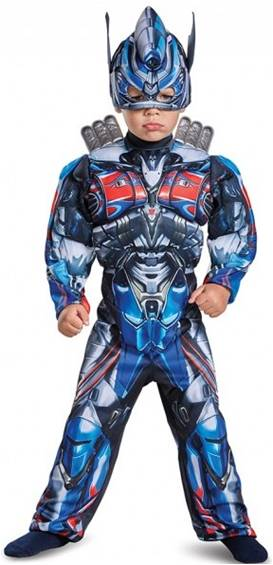 DELUXE MUSCLE OPTIMUS PRIME COSTUME FOR TODDLERS