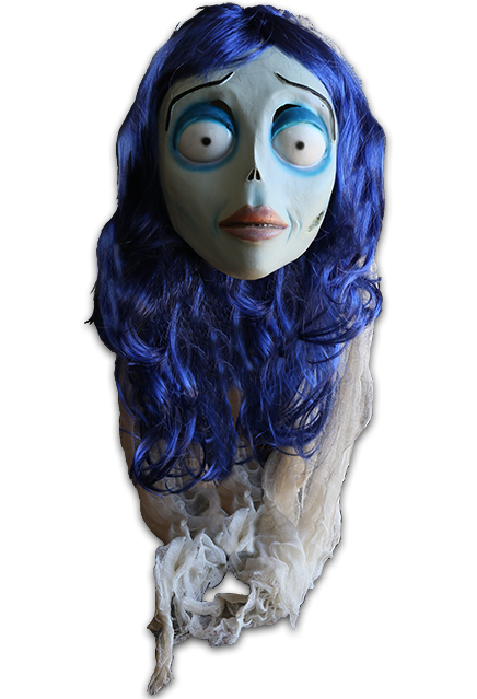 CORPSE BRIDE DELUXE LATEX MASK FOR ADULTS