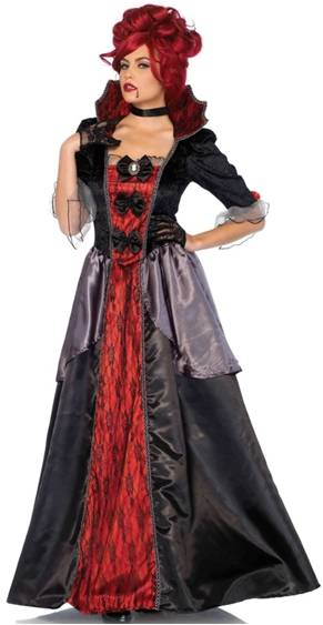 BLOOD COUNTESS VAMPIRE COSTUME FOR WOMEN