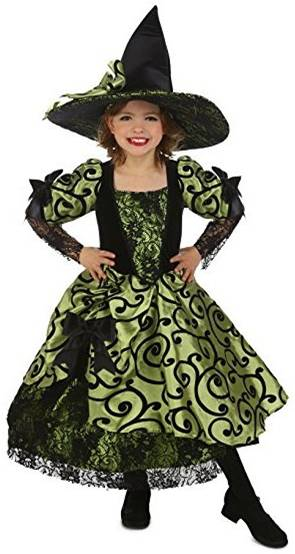 NELL THE VINTAGE WITCH COSTUME FOR GIRLS