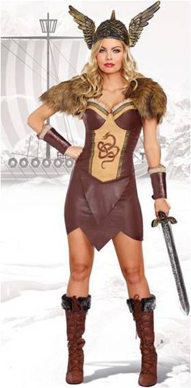 VORACIOUS SEXY VIKING COSTUME FOR WOMEN