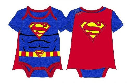 BABY SUPERMAN COSTUME FOR BABIES INFANTS