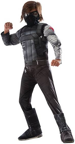 AVENGERS DELUXE WINTER SOLDIER COSTUME FOR BOYS