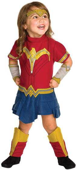 BvS DELUXE WONDER WOMAN COSTUME FOR TODDLER GIRLS